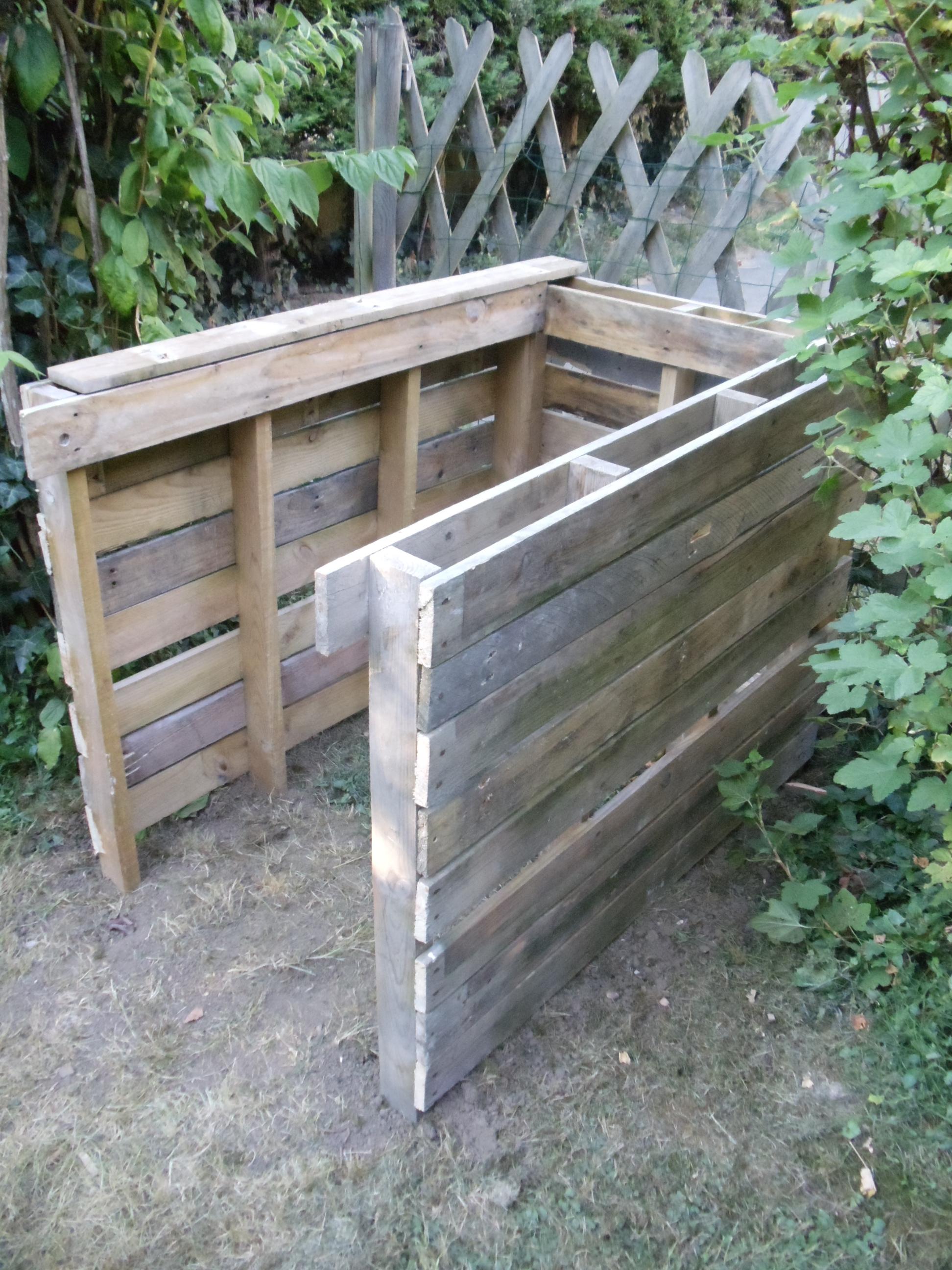 Fabriquer Un Composteur Avec Des Palettes débuter en bricolage de palette : un composter : david mercereau