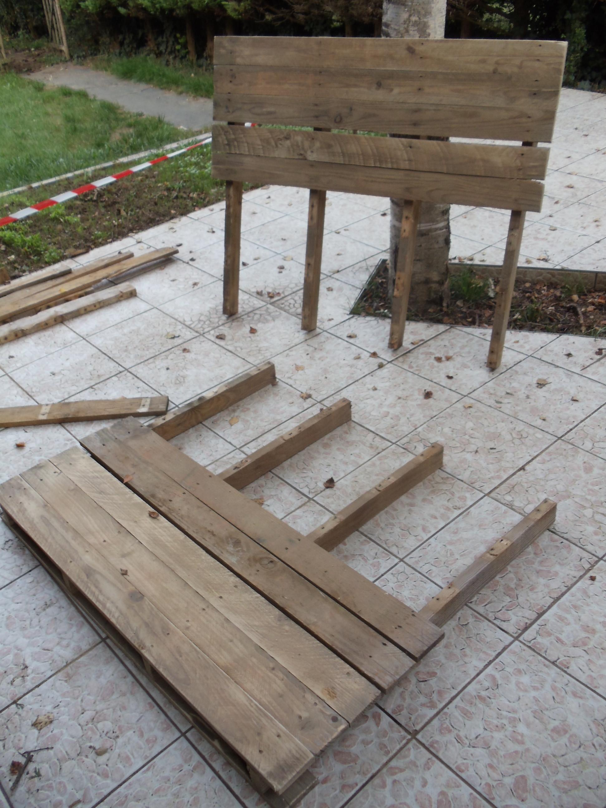 Fabriquer un canapé de jardin en palette – David Mercereau