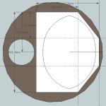 Solution 2: Découpe minimum dans le poêlito