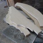 Chapiteaux à partir de planches de sapin