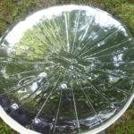 La parabole tapissée de miroir