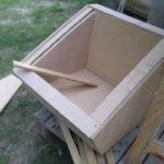 La boîte quasi terminée & isolée