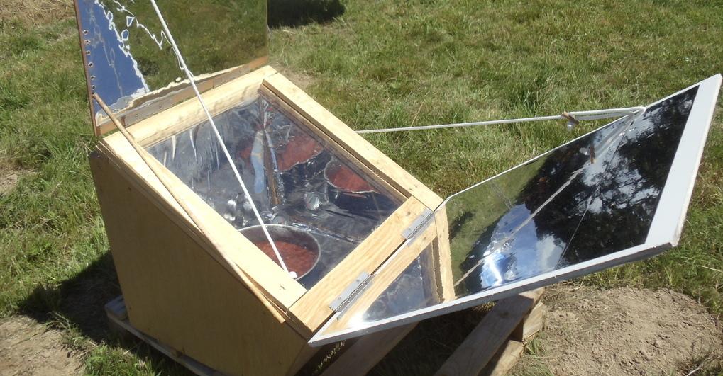 Fabriquer Un Four Solaire Cuiseur Type Boîte David Mercereau