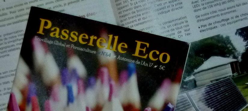 [Passerelle Eco] Concevoir son installation photovoltaïque autonome