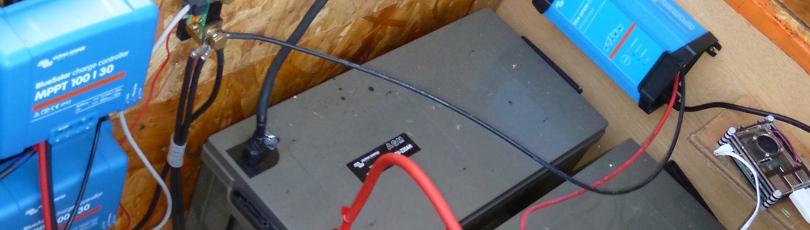 Chargeur de batterie solaire pour hiver difficile
