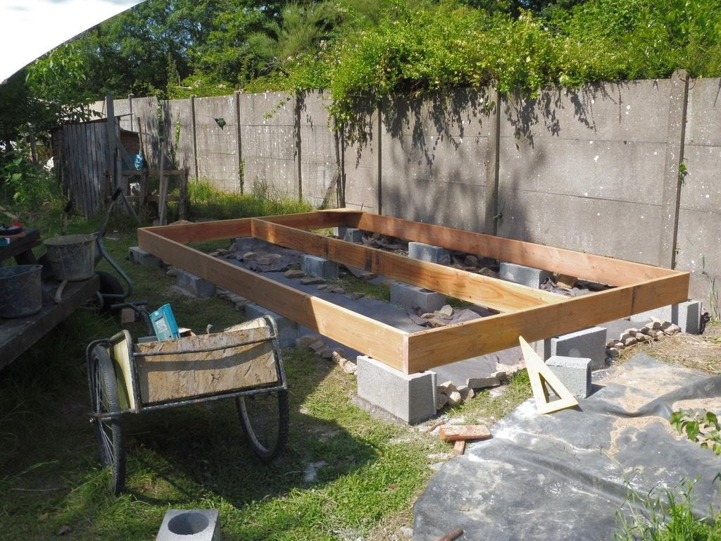 Sur Quoi Poser Un Abri De Jardin cabane de jardin (mini mob) : david mercereau